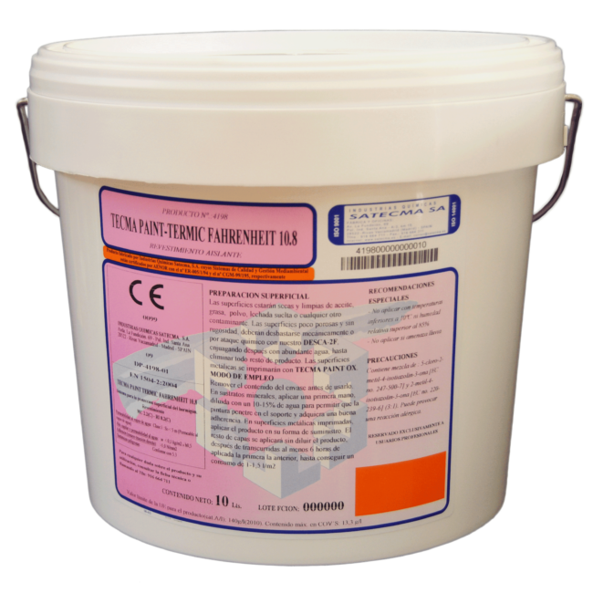 tecma paint termic fahrenheit 10.8