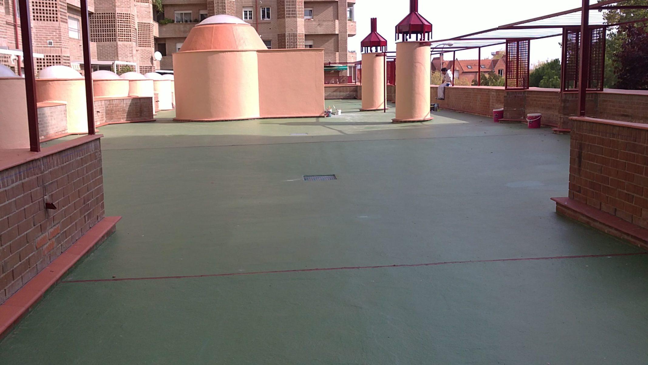 impermeabilizante e-88 terraza