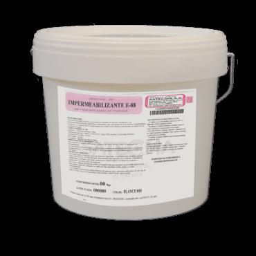 impermeabilizante elástico de cubiertas e-88