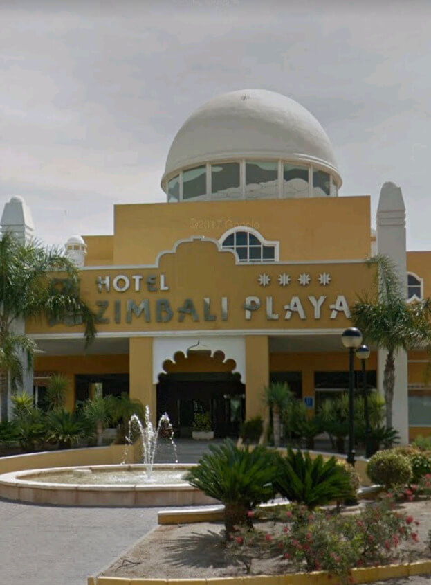 cupula hotel zimbali (Almería) impermeabilizante E-88