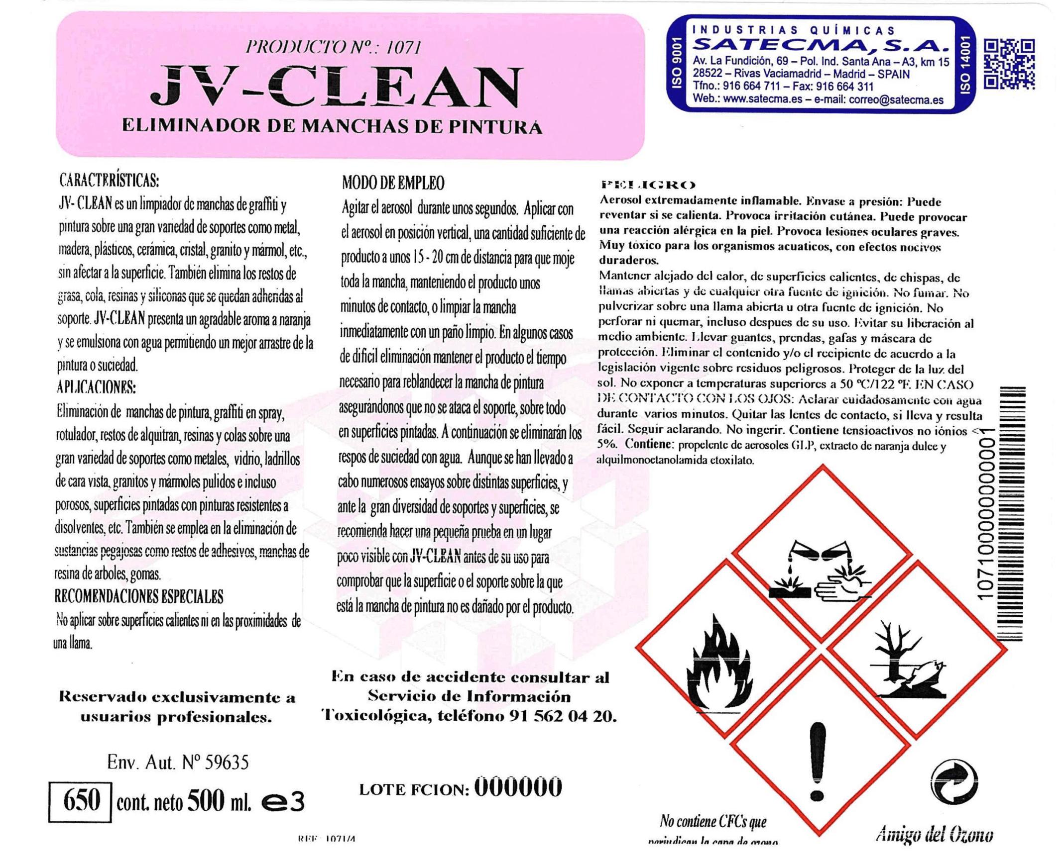 limpiador manchas pintura