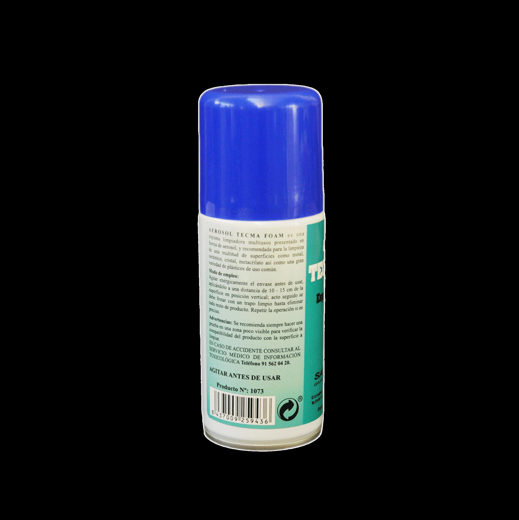 aerosol limpiador