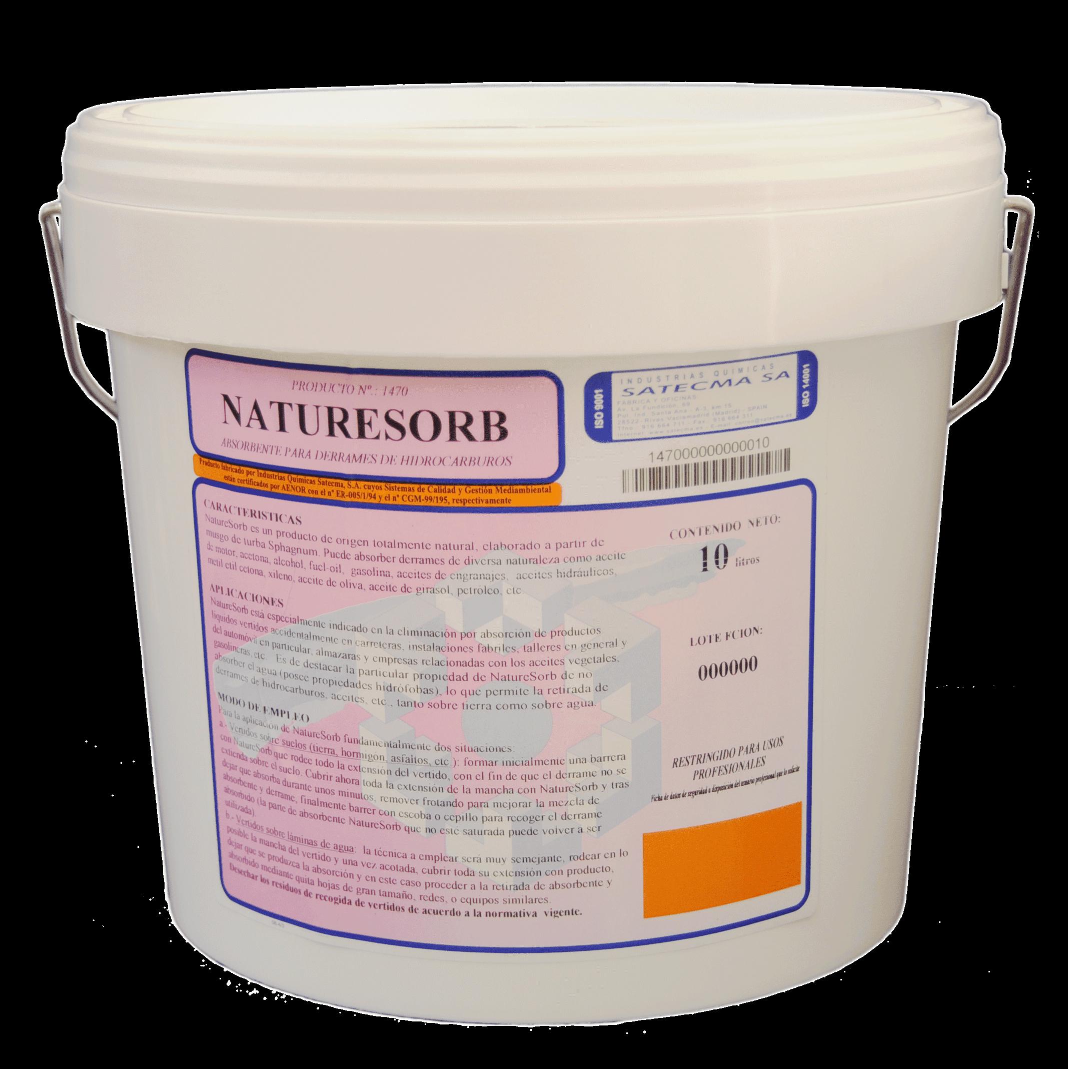 absorbente hidrocarburos