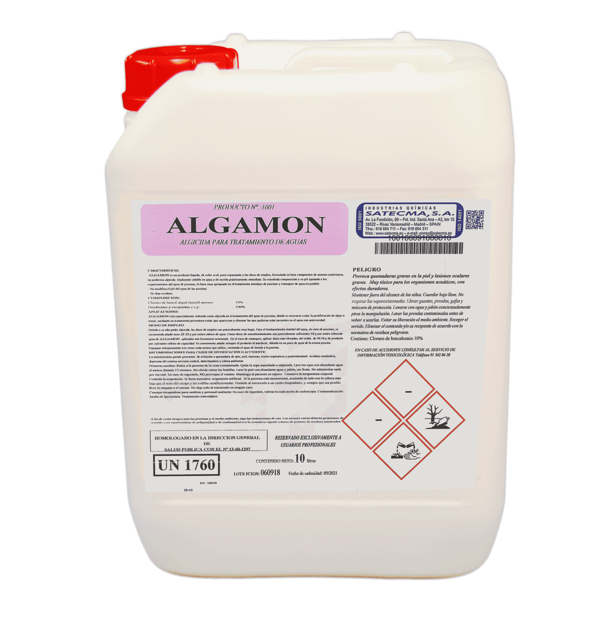 Algamon tratamiento de aguas anti algas