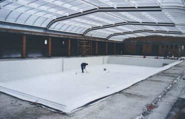 aplicación piscina tecmadry elast