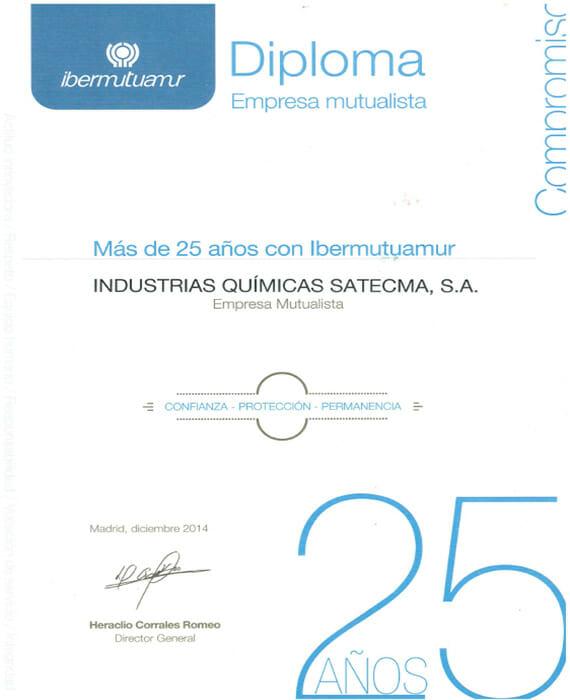 Diploma ibermutuamur