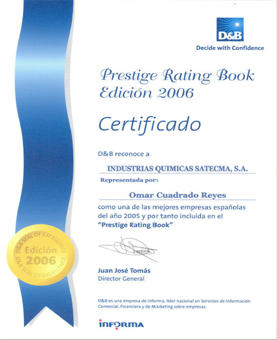Prestige Rating Book