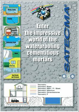Waterproofing cementious mortars