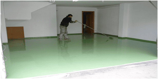 tecma paint autonivelante verde