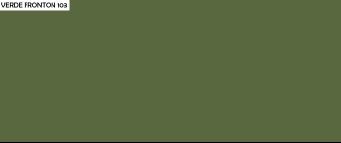 color pintura verde fronton 103 tecma paint as