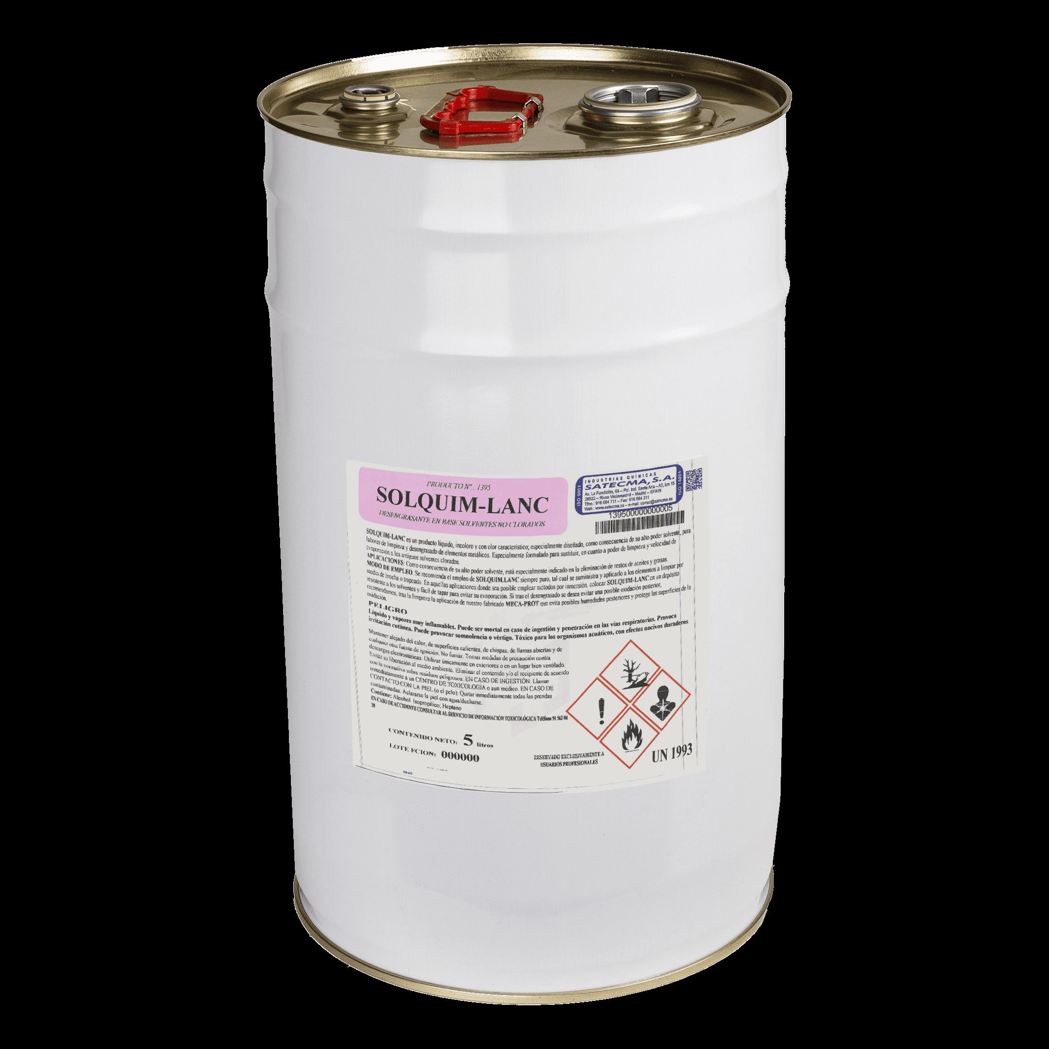desengrasante solvente no clorado