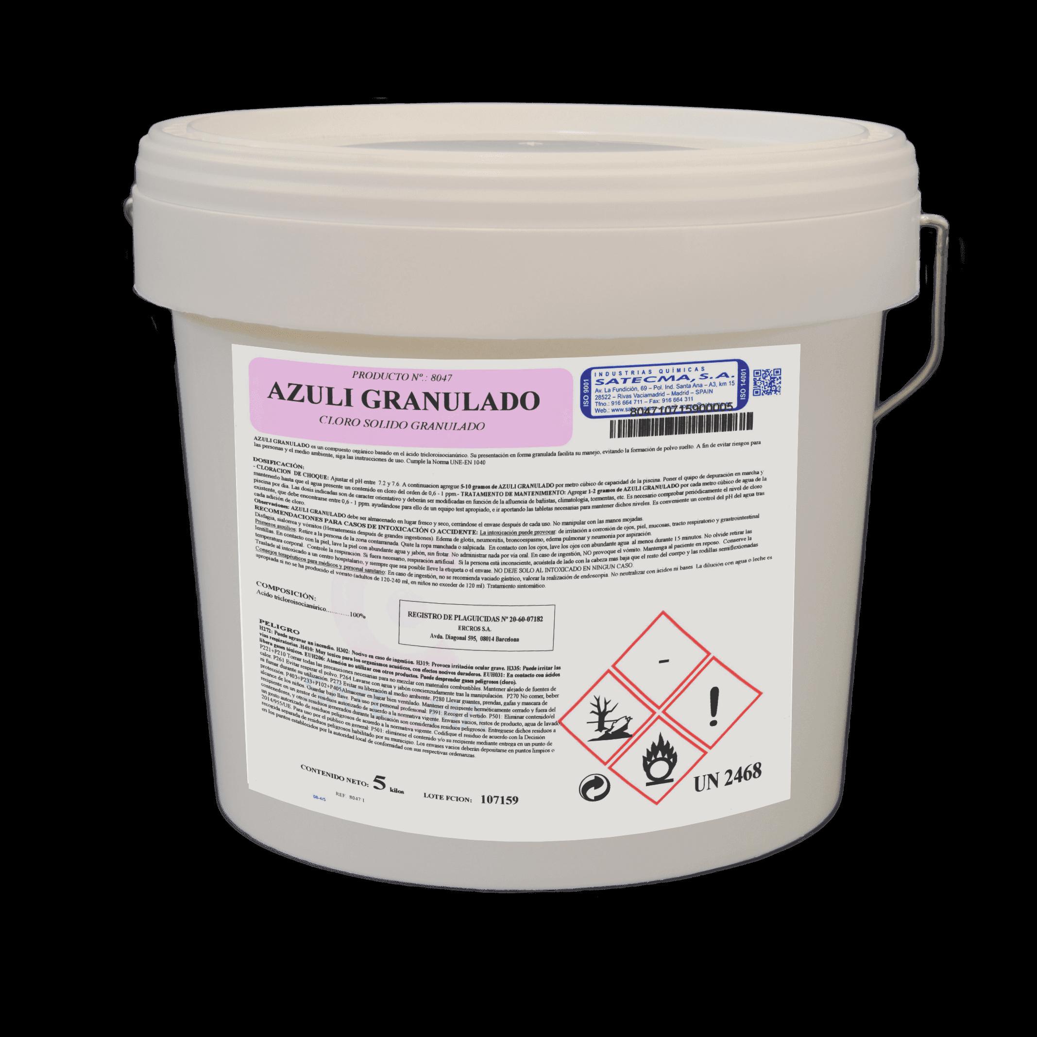 cloro solido granulado