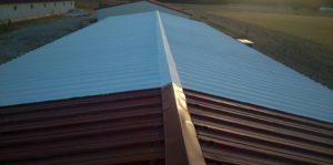 Aislamiento térmico en tejado de granja en España. Producto: TECMA PAINT TERMIC FAHRENHEIT 10.
