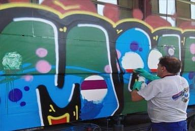 eliminamos grafitis