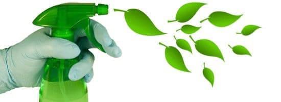 spray limpieza medio ambiente