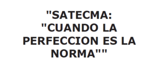marca registrada satecma perfeccion norma