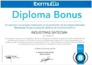 diploma bonus ibermutua riesgos satecma