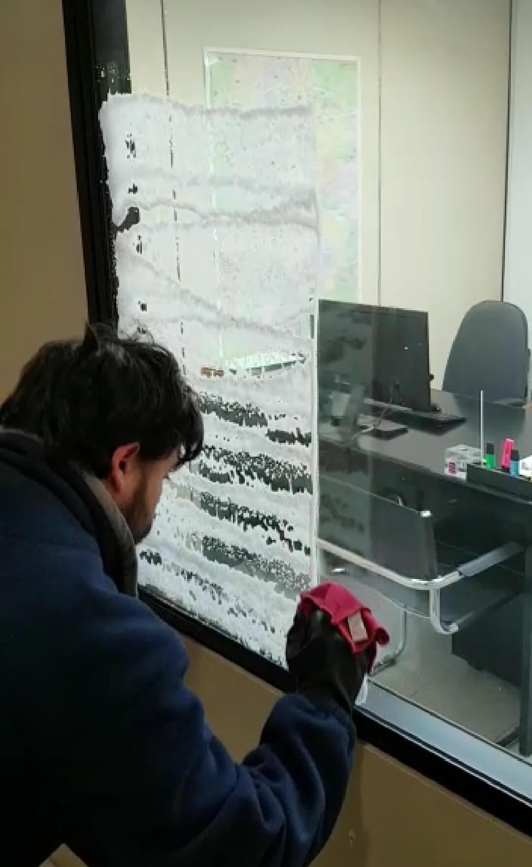 limpieza cristal con tecma clean c19