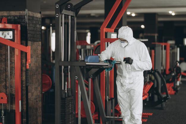 limpieza desinfeccion gimnasio