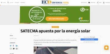 noticia El Confidencial satecma placas solares