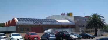 foto exterior satecma placas solares