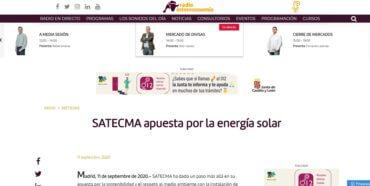 noticia Intereconomia satecma placas solares