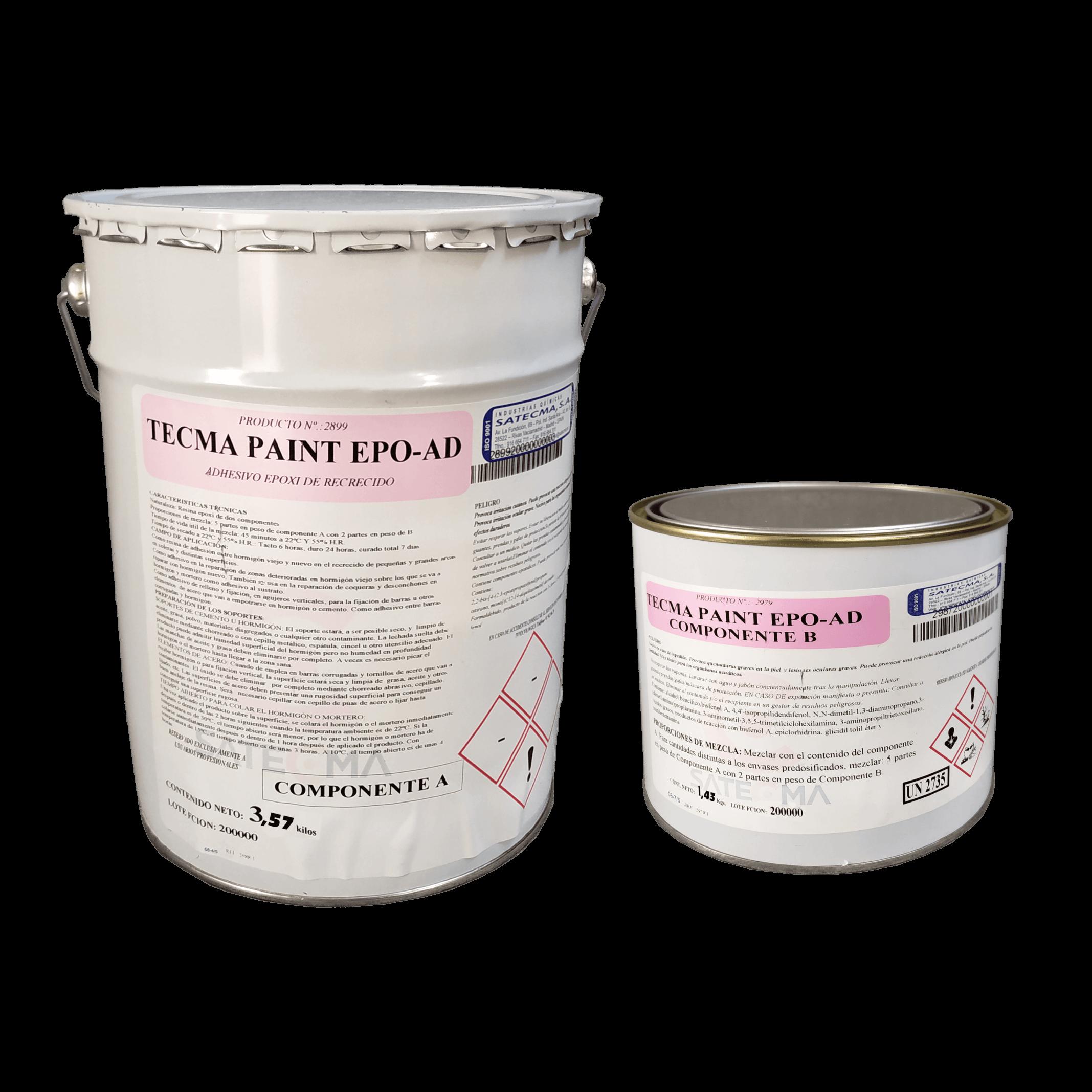 adhesivo epoxi de recrecido