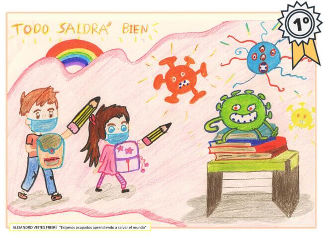 1º premio concurso de dibujo satecma