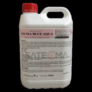 tecma blue aqua filtro radiación solar agua